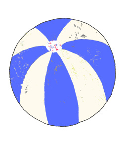Andreas Lundberg - Beachball Blue