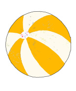 Andreas Lundberg - Beachball Yellow