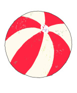 Andreas Lundberg - Beachball Red