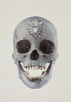 Damien Hirst - For the Love of God | Diamond Skull nr 8852