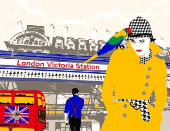 Richard Ryan - London Victoria Station (Buy my skull) (AP)